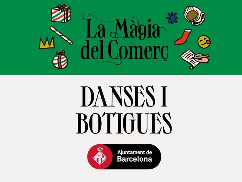 Danses i botigues. De 18.00h a 20.30h pels carrers de Sant Antoni