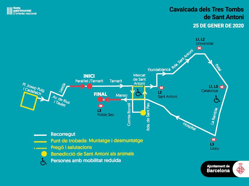 Cabalgata Els Tres Tombs de Sant Antoni