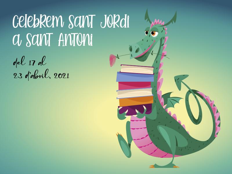 Celebra Sant Jordi amb Sant Antoni Comerç i participa en el sorteig d'un val de compra de 150€!