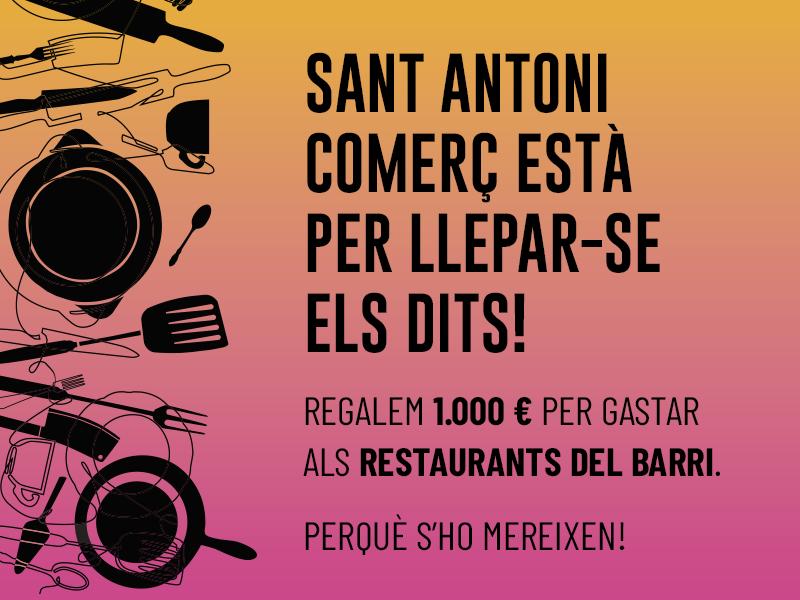 ¡Sant Antoni Comerç está para chuparse los dedos!