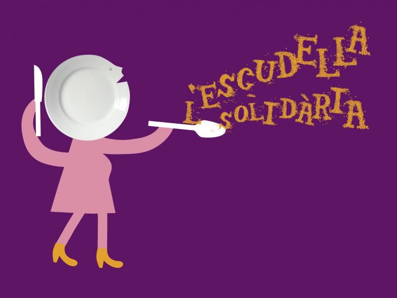 Recapte d'Aliments i Escudella Solidària de Sant Antoni