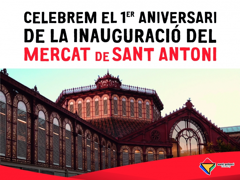 A Sant Antoni estem d'aniversari!