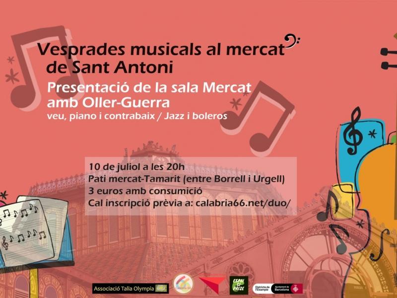 Torna la música en viu a Sant Antoni gràcies a Calàbria66