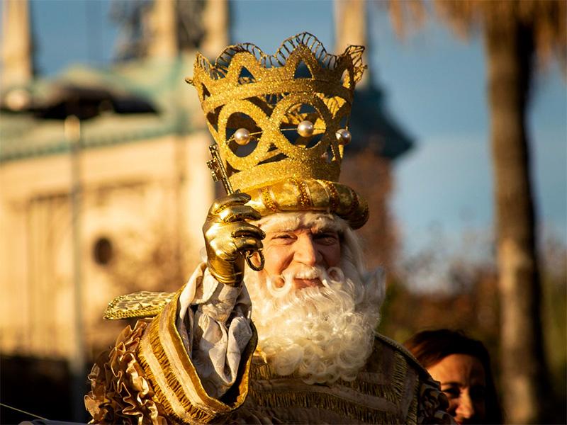 Els Reis Mags d'Orient arriben a Barcelona