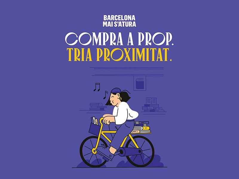 Es presenta 'Compra a prop', la nueva campaña para promocionar el comercio de Barcelona